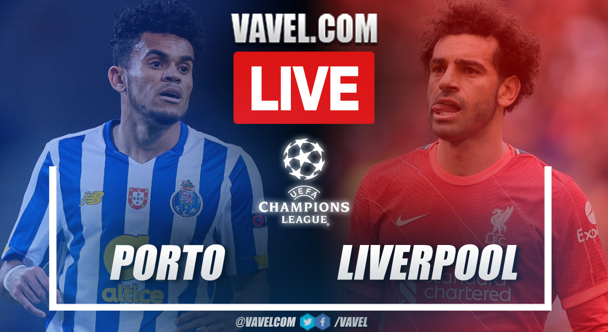 Highlights and goals: Porto 1-5 Liverpool in UEFA Champions League 2021-22