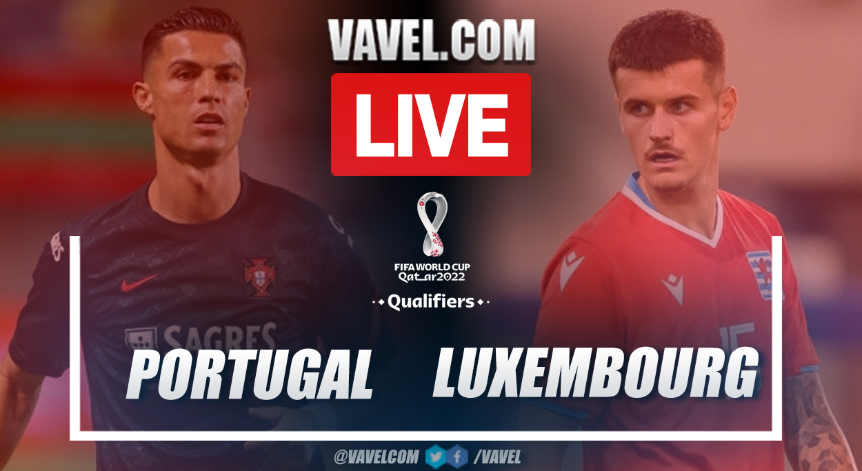 Highlights and goals: Portugal 5-0 Luxembourg in 2022 World Cup Qualifiers