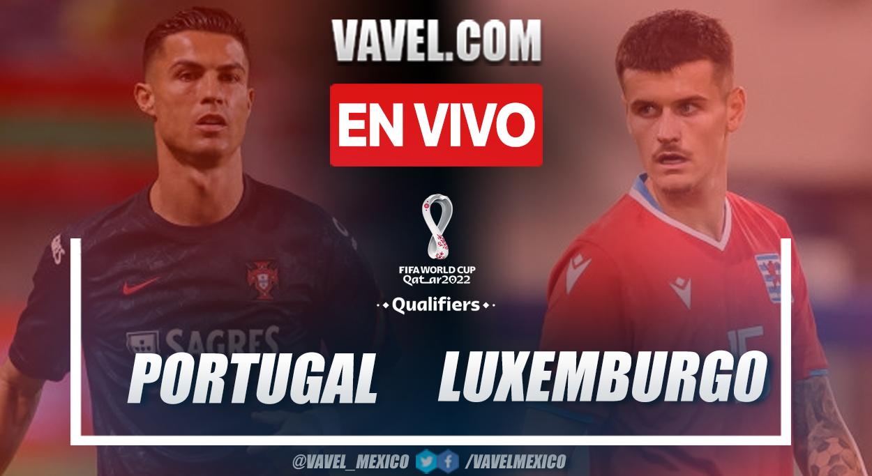 Resumen y goles: Portugal 5-0 Luxemburgo en Eliminatorias a Catar 2022