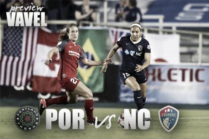 North Carolina Courage vs Portland Thorns Preview: A 2016 playoff rematch