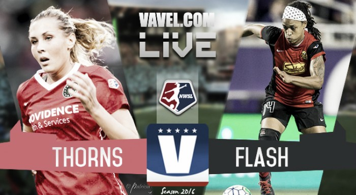 Score Portland Thorns vs Western New York Flash in 2016 NWSL Playoffs (3-4)