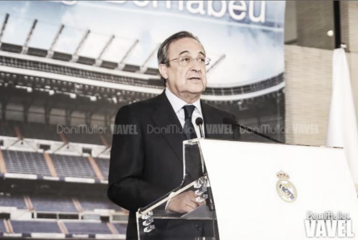 Florentino Pérez é reeleito presidente do Real Madrid em quinto mandato até 2021