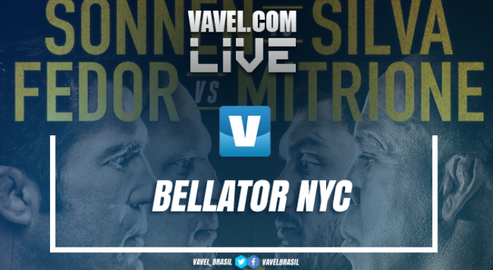 Resultado luta Chael Sonnen x Wanderlei Silva no Bellator 180