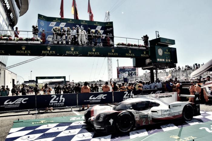 Le Mans mais uma vez espetacular