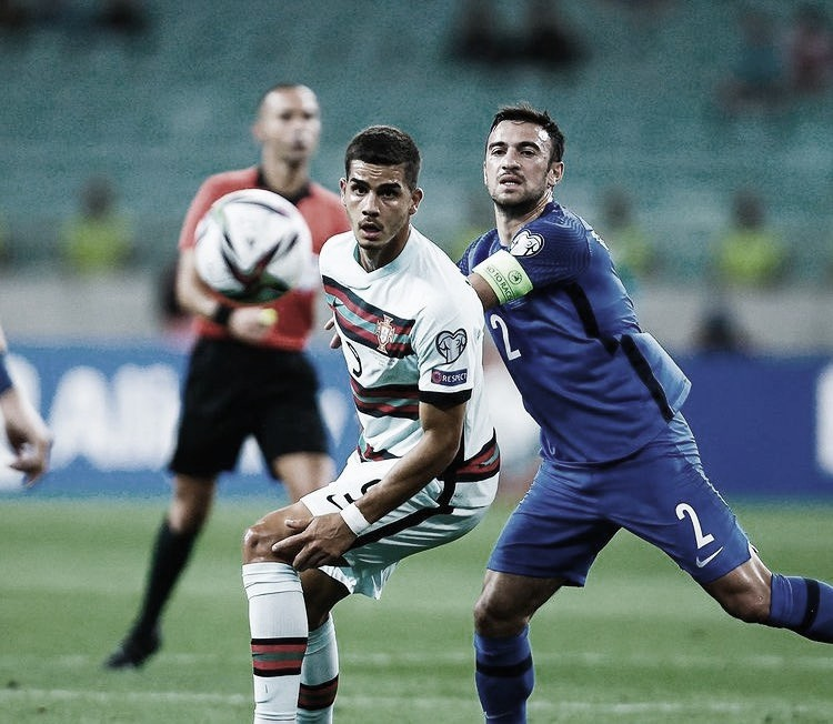 Portugal domina e passa fácil pelo Azerbaijão em Baku