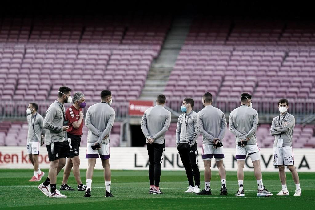 El Real Valladolid recupera a Weissman, Roberto, Luis Pérez y Orellana para el partido frente al Granada