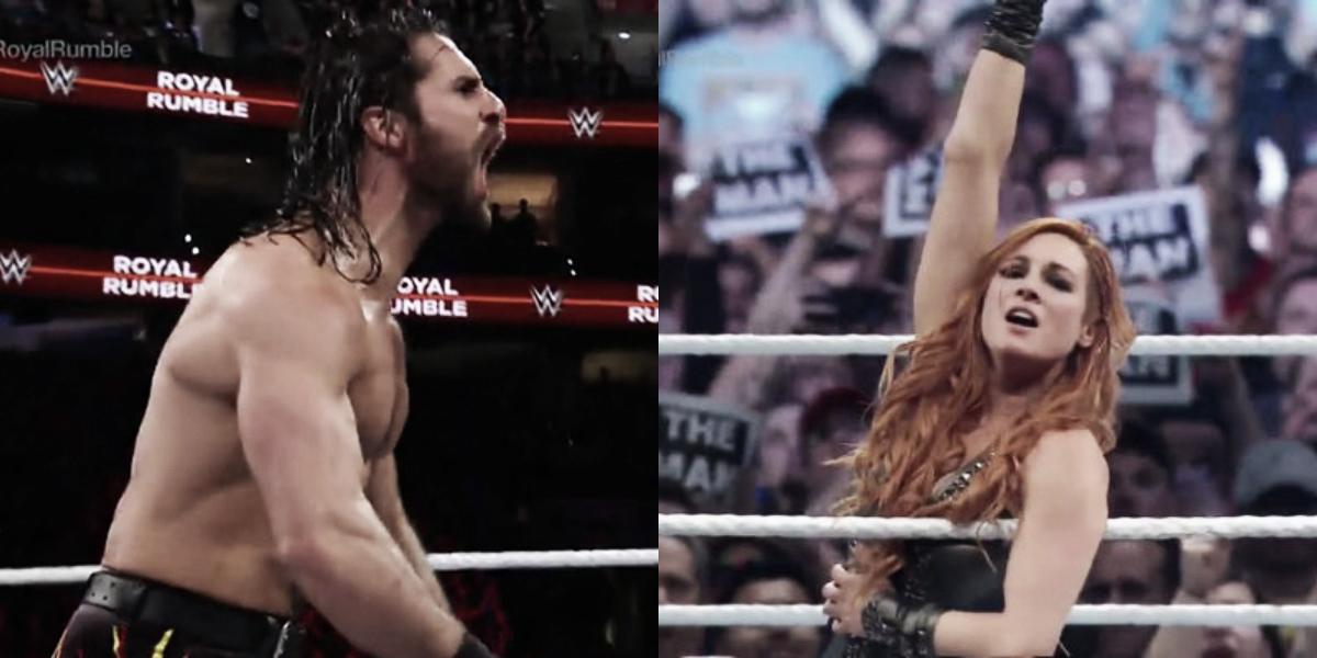 Seth Rollins y Becky Lynch son los ganadores de los Royal Rumble