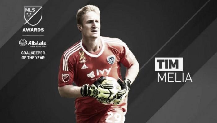 Tim Melia, MLS Portero del Año 2017