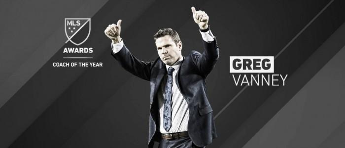 Greg Vanney, MLS Entrenador del Año 2017