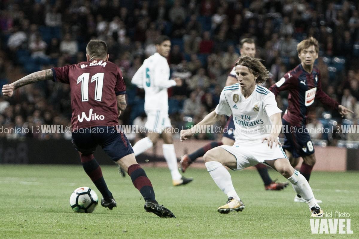 Previa Real Madrid - Eibar: orgullo para terminar una larga travesía