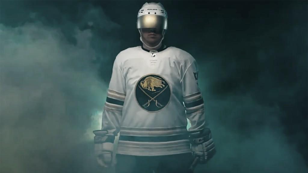 Buffalo Sabres revelan el jersey que celebra su 50 aniversario