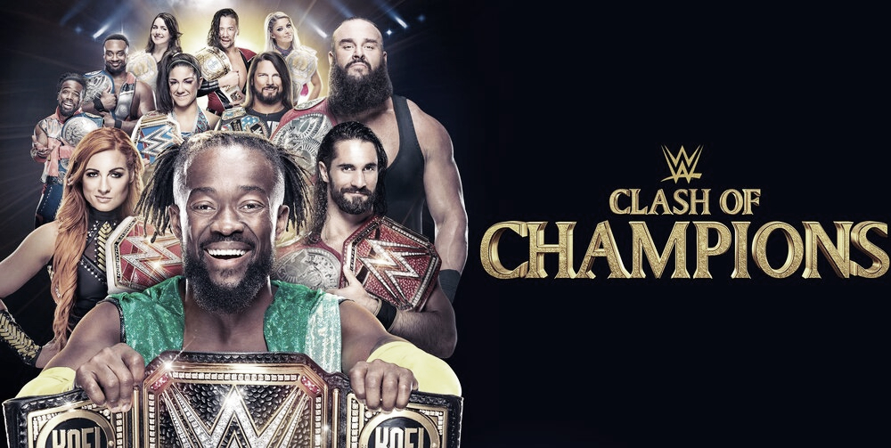 Cartelera Clash Of Champions 2019