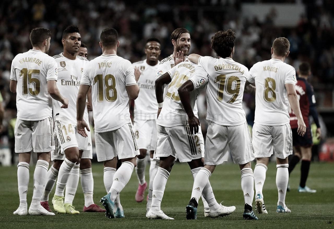 Mallorca vs Real Madrid en vivo online hoy en LaLiga Santander (1-0)