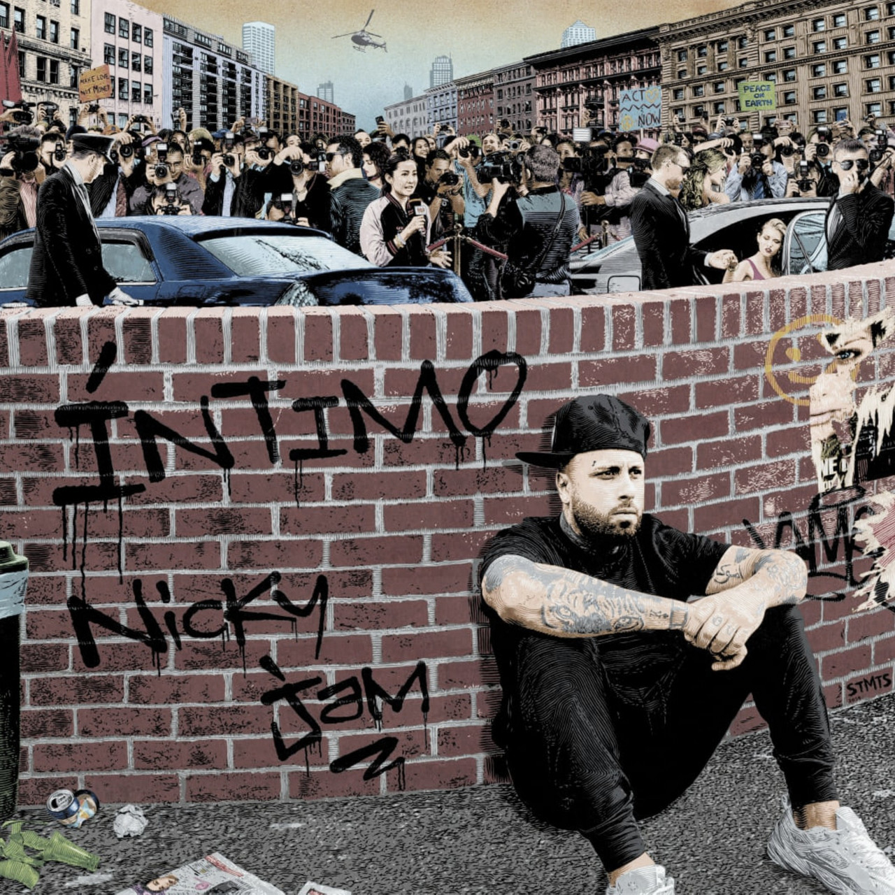 "Nicky Jam estrena su nuevo álbum ""Íntimo"""