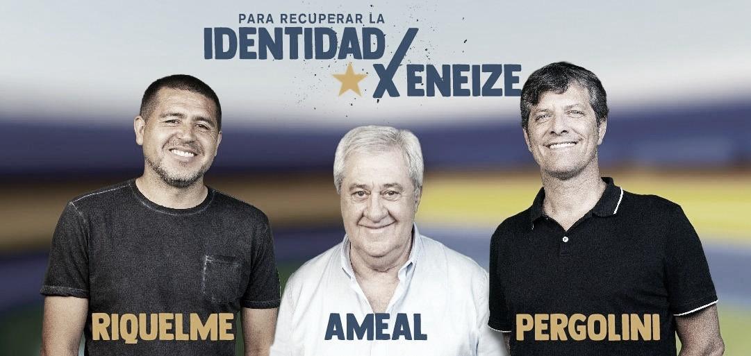 ¡Ameal es el nuevo presidente de Boca!
