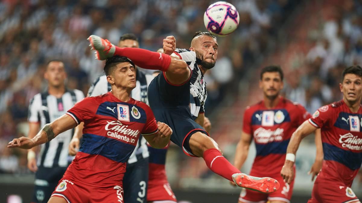 Los últimos cinco partidos entre Guadalajara y Monterrey