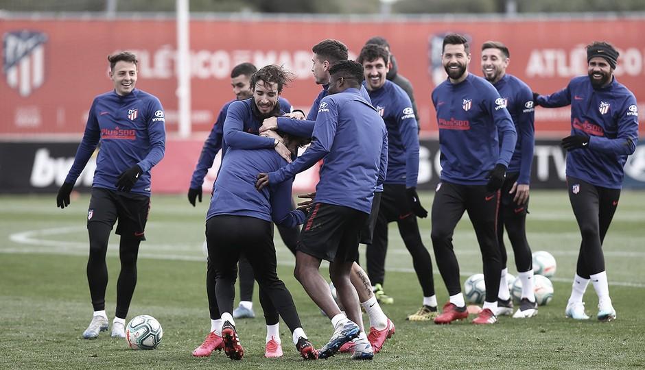 El Atlético de Madrid suspende los entrenamientos durante dos semanas