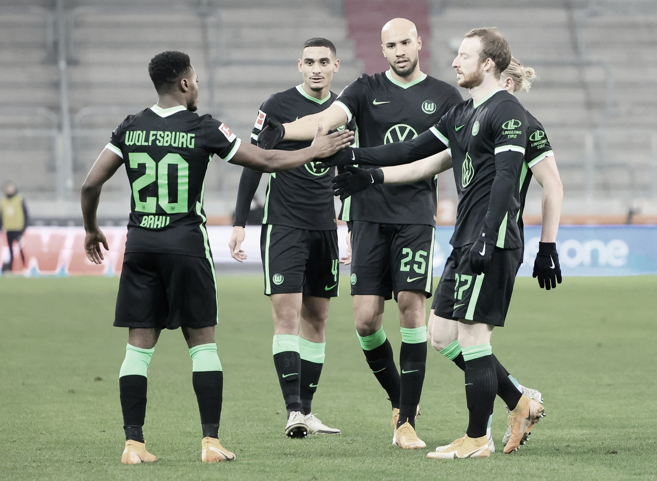 VfL Wolfsburg supera de visita a FC Augsburg por Bundesliga