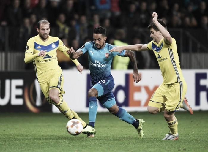 Previa Arsenal – BATE Borisov: con la moral por las nubes