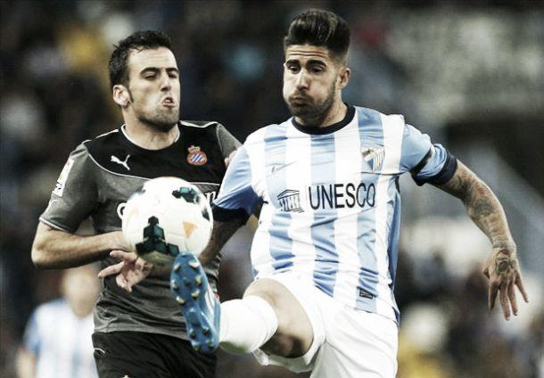 Málaga - Espanyol: malas rachas ante una buena temporada