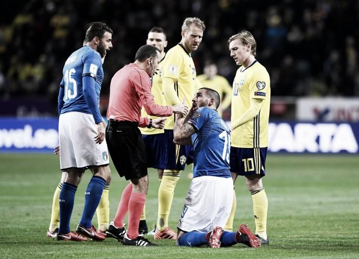 Las palabras de los jugadores italianos tras la derrota en Suecia