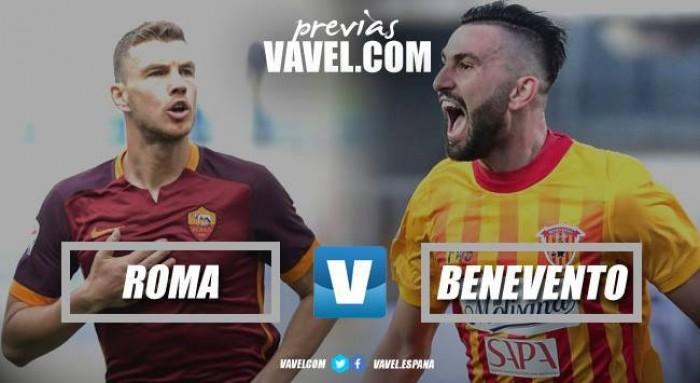 Previa Roma vs Benevento: dos equipos llenos de diferencias se miden entre sí