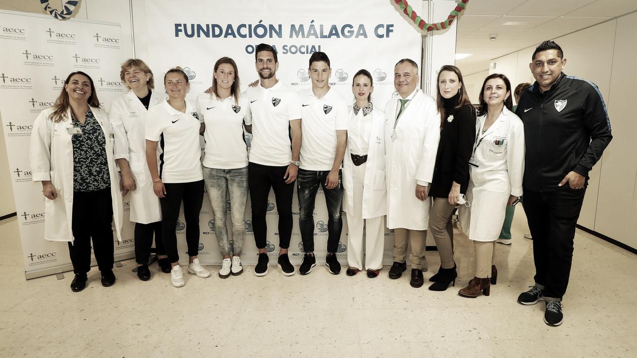 El Málaga visita el Materno