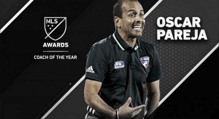 Óscar Pareja, MLS Entrenador del Año 2016