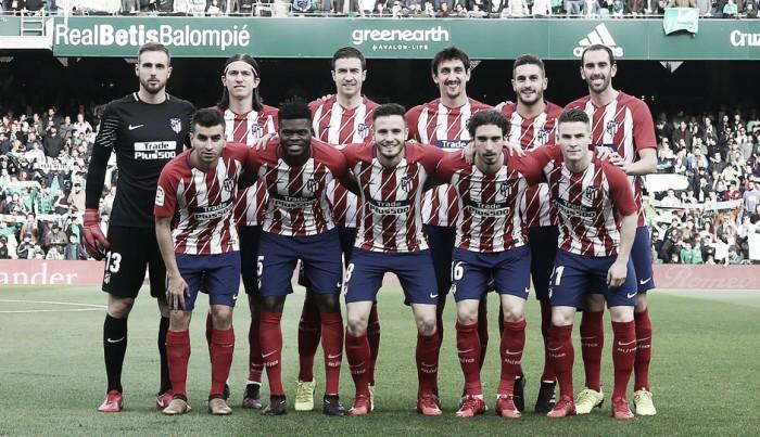 El Atlético de Madrid quiere seguir en la cumbre