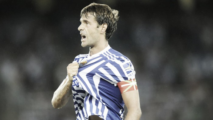 "Xabi Prieto: otro ""one club man"" txuri urdin"