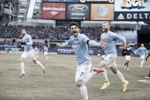 New York se rinde a David Villa