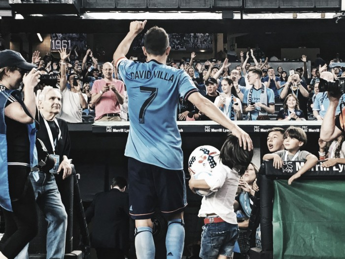 David Villa pone New York a sus pies