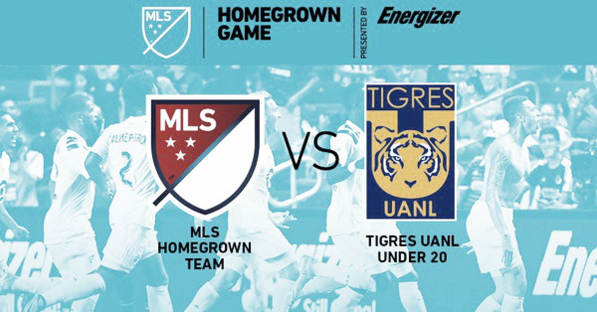 Tigres será el rival en el Homegrown Game