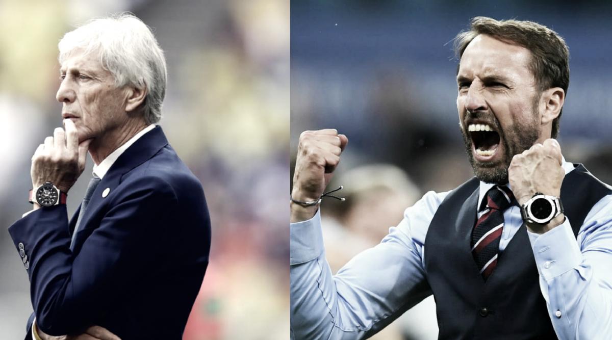 Cara a cara: Gareth Southgate vs José Pekerman