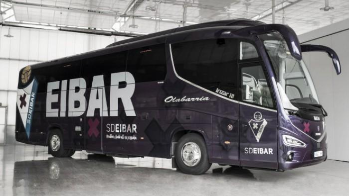 El Eibar ya tiene su nuevo autobús