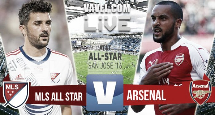 Resultado MLS All-Stars vs Arsenal en el MLS All-Star 2016 (1-2)