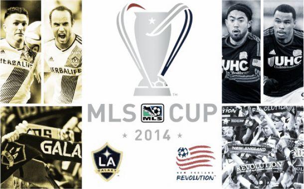 LA Galaxy - NE Revolution, final de la MLS Cup