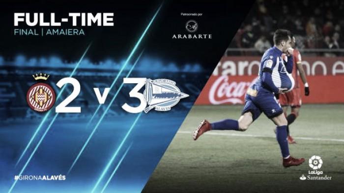 Al Deportivo Alavés le gusta el resultado del 2-3