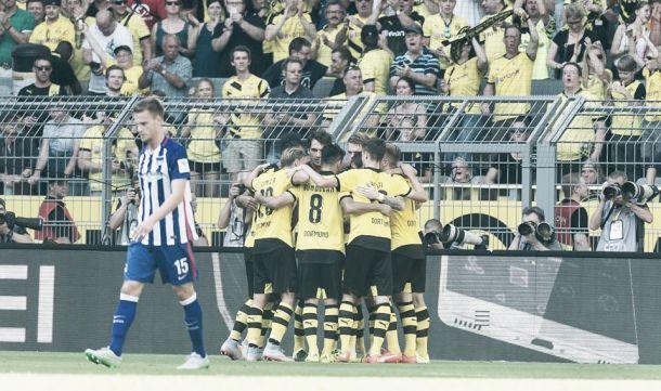 El Dortmund sigue con su racha triunfal