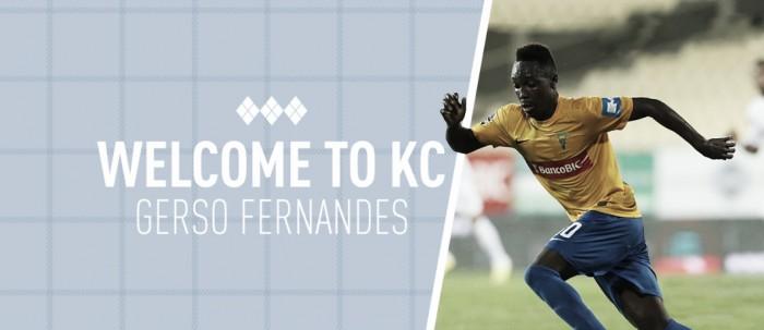 Gerso Fernandes refuerza el ataque de Kansas