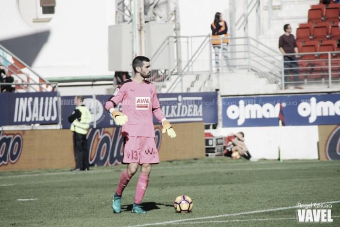 """Asier Riesgo: """"Ojalá pueda acabar mi carrera en el Eibar, sería fenomenal"""""""
