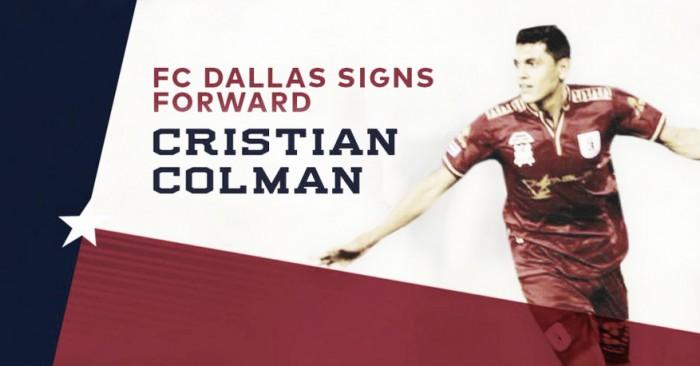 Cristian Colmán es el nuevo Designated Player de Dallas