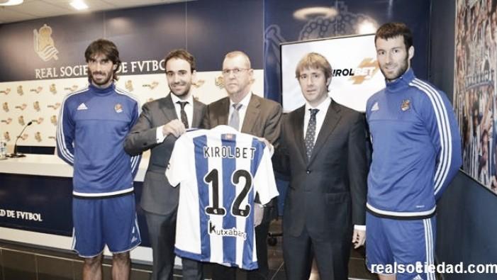 KirolBet, nuevo patrocinador de la Real Sociedad