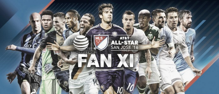 XI Inicial AT&T MLS All-Star 2016