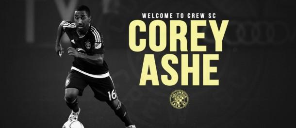 Columbus Crew contrata a Corey Ashe