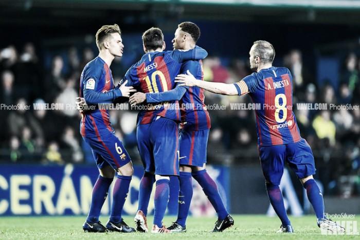 Castigo desmesurado en el Camp Nou