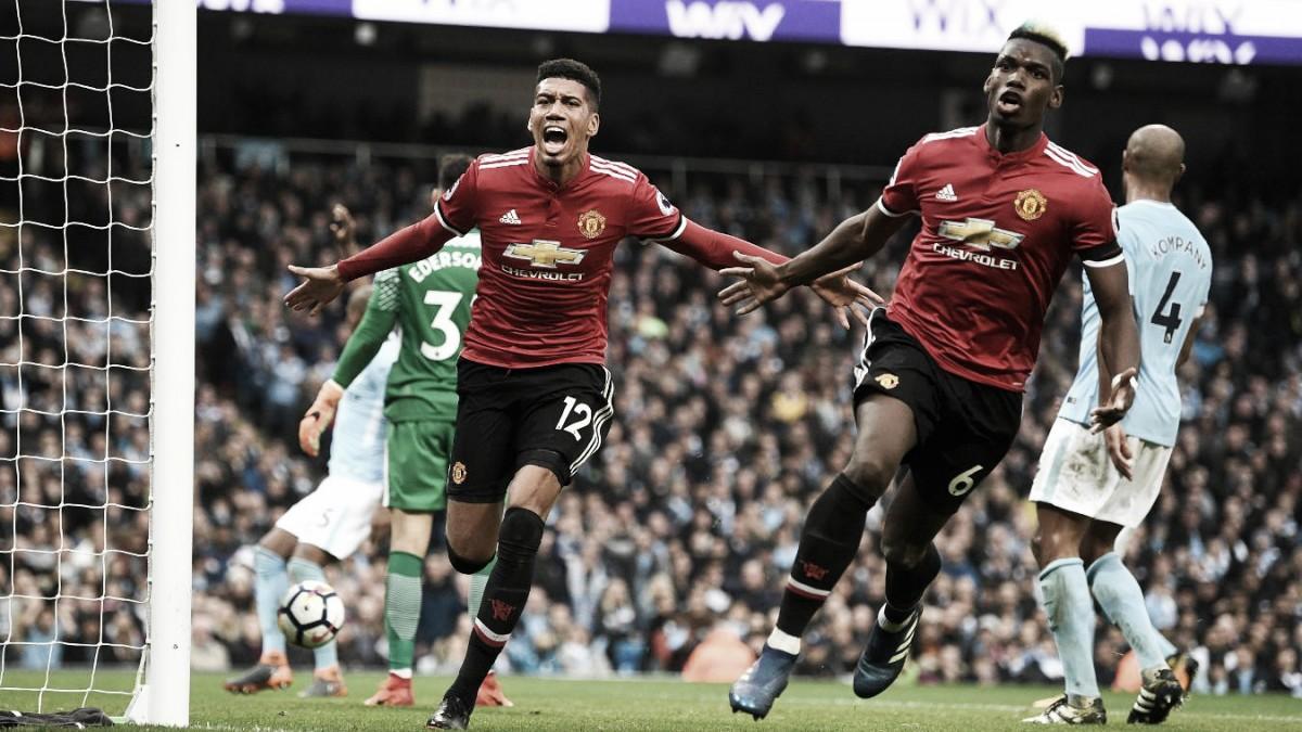 United frenó la coronación del City