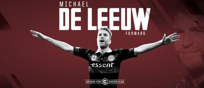 Chicago Fire se hace con De Leeuw