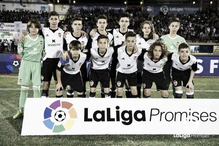 El infantil del Valencia se queda a las puertas de la victoria en Arona