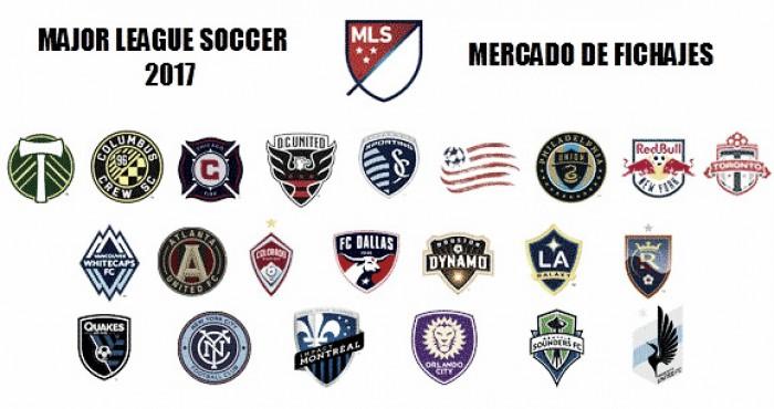 Mercado de Fichajes Major League Soccer 2017